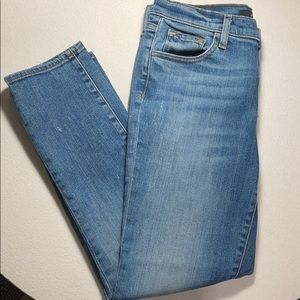 J Brand Sadey Slim Straight Jean Old Rose Size 26